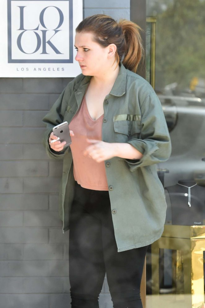 Abigail Breslin out in West Hollywood