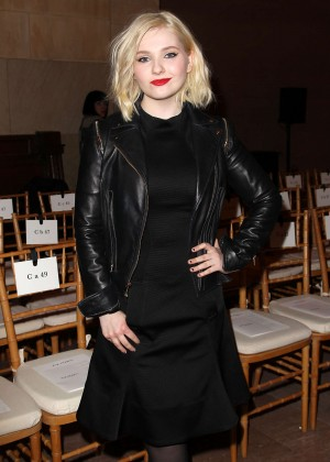 Abigail Breslin - Zac Posen Fashion Show 2015 in NYC