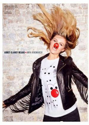 Abigail Clancy - Elle UK Magazine (March 2015)