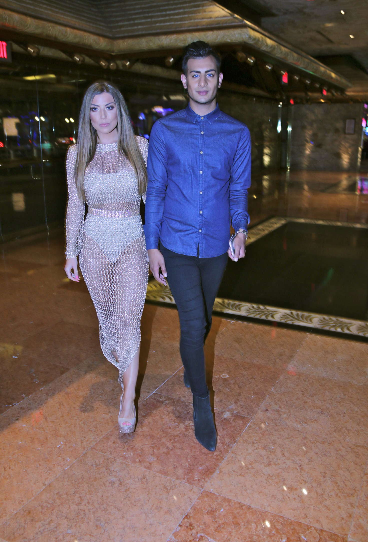 Abigail Clarke And Junaid Ahmed Out In Las Vegas Gotceleb