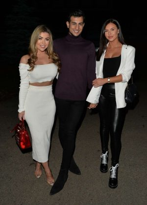 Abigail Clarke and Shelby Tribble - Night Out in London