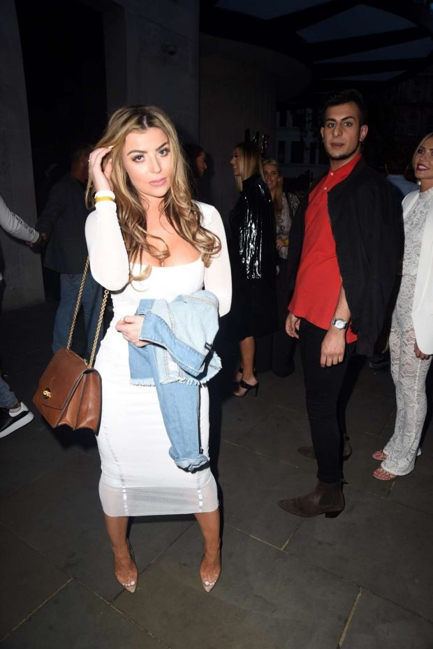 Abigail Clarke - Arrives at Mark Wright's London Marathon After Party