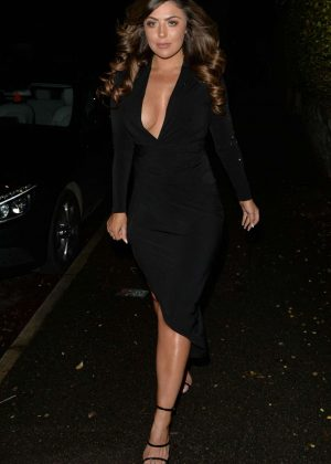 Abigail Clarke - Night Out at New Year's Eve in London