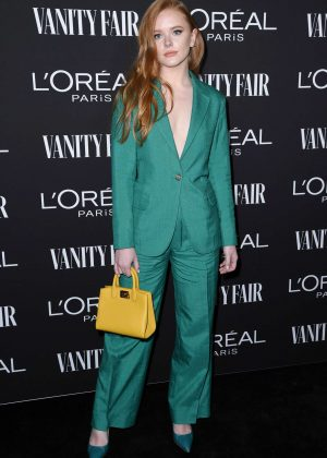 Abigail Cowen - Vanity Fair and L'Oreal Paris Celebrate New Hollywood in LA