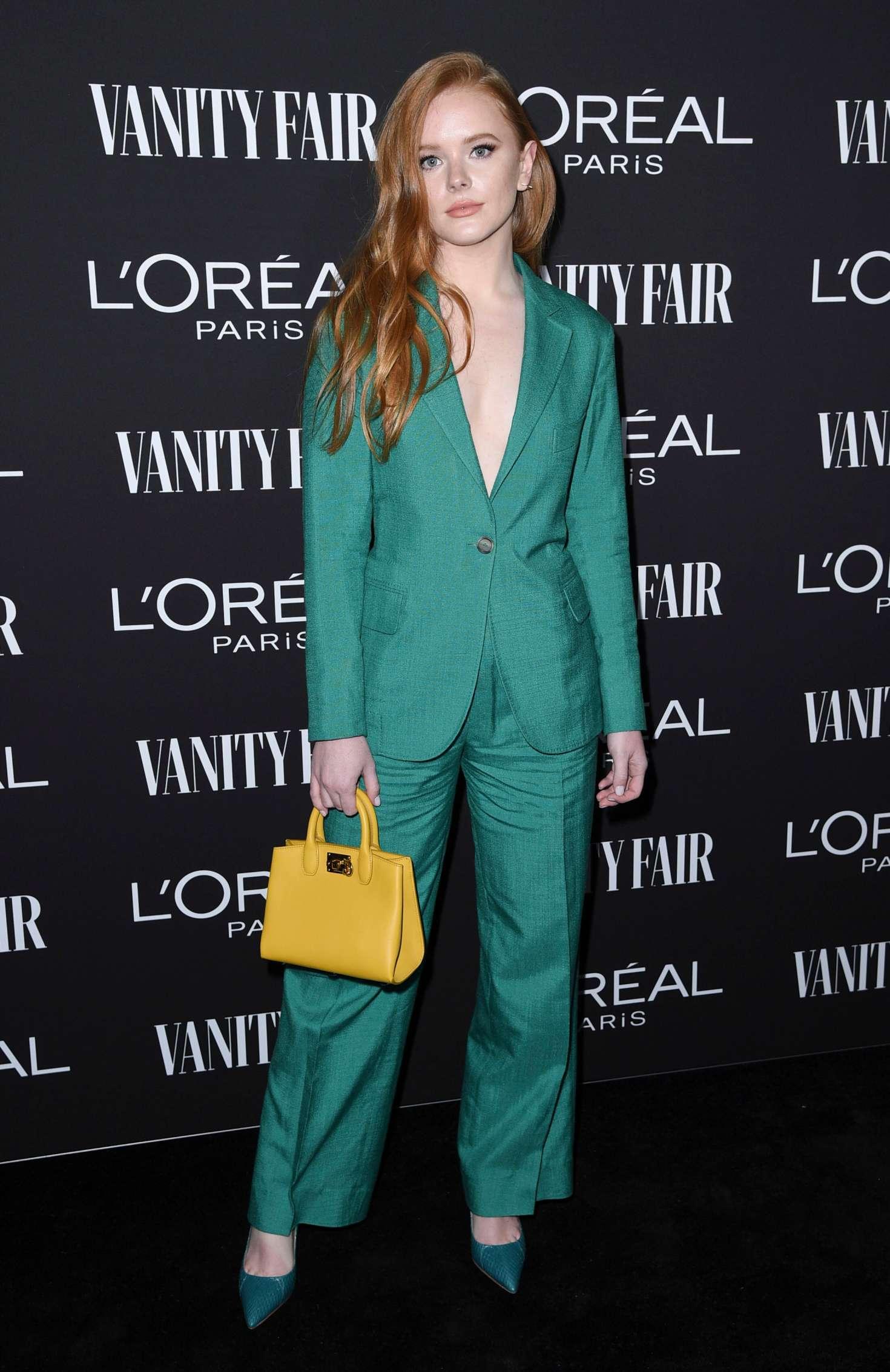Abigail Cowen - Vanity Fair and L'Oreal Paris Celebrate New Hollywood in LA