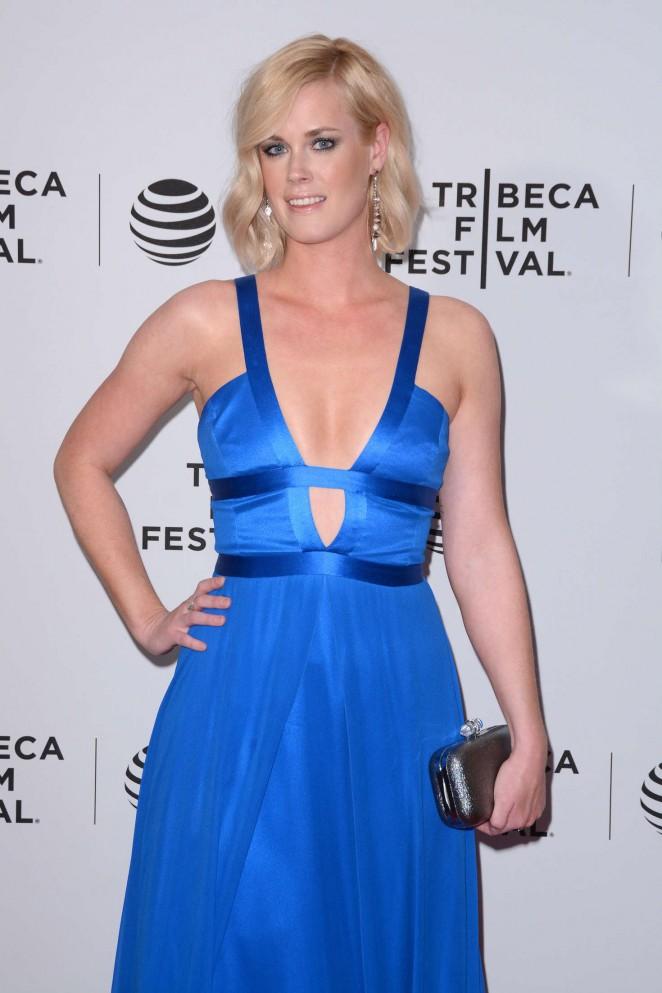 Abigail Hawk - 'Almost Paris' Premiere at 2016 Tribeca Film Festival in NY