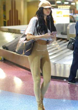 Abigail Ratchford in Leggings out in Las Vegas