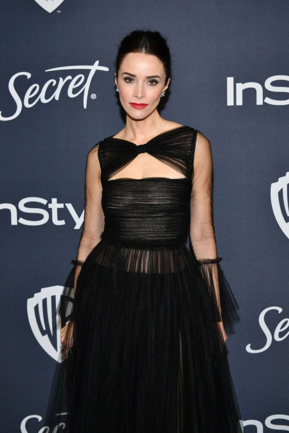 Abigail Spencer - 2020 InStyle and Warner Bros Golden Globes Party in Beverly Hills