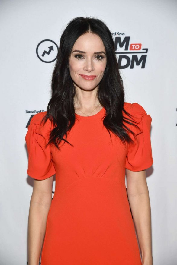Abigail Spencer - BuzzFeed's 'AM To DM' in NY