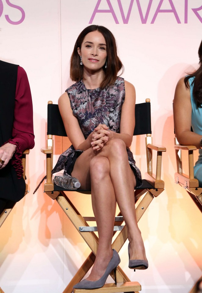 Abigail Spencer - People's Choice Awards 2016 Nominations in Beverly Hills