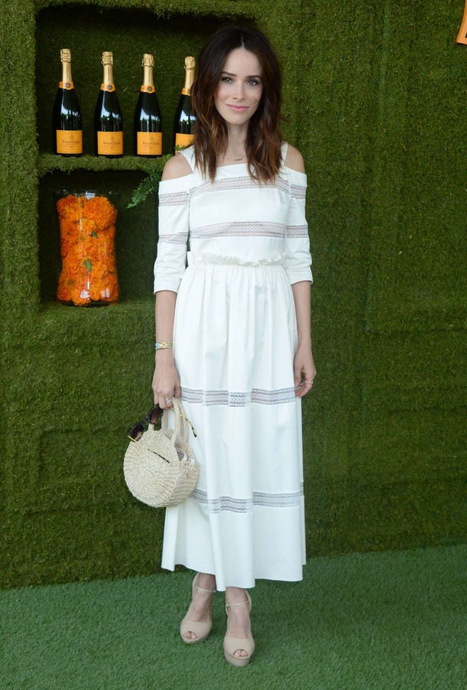Abigail Spencer - Veuve Cliquot Polo Classic in LA