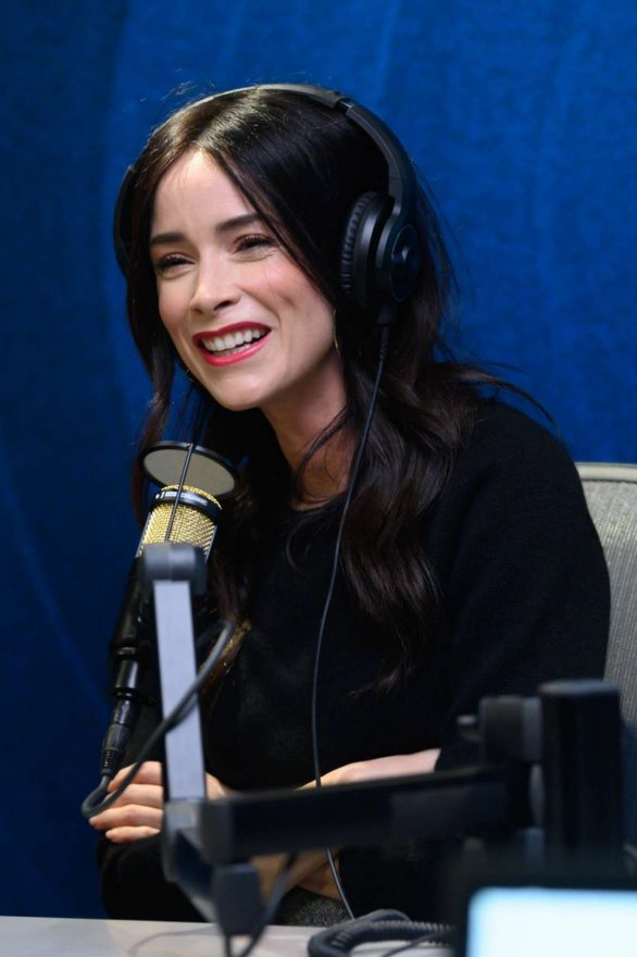 Abigail Spencer - Visits SiriusXM Studios in Hollywood