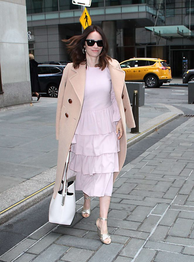 Abigail Spencer - Visits The Today Show in NYC
