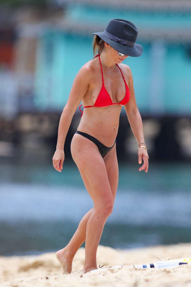 Ada Nicodemou 2019 : Ada Nicodemou in Black and Red Bikini 2019 -03