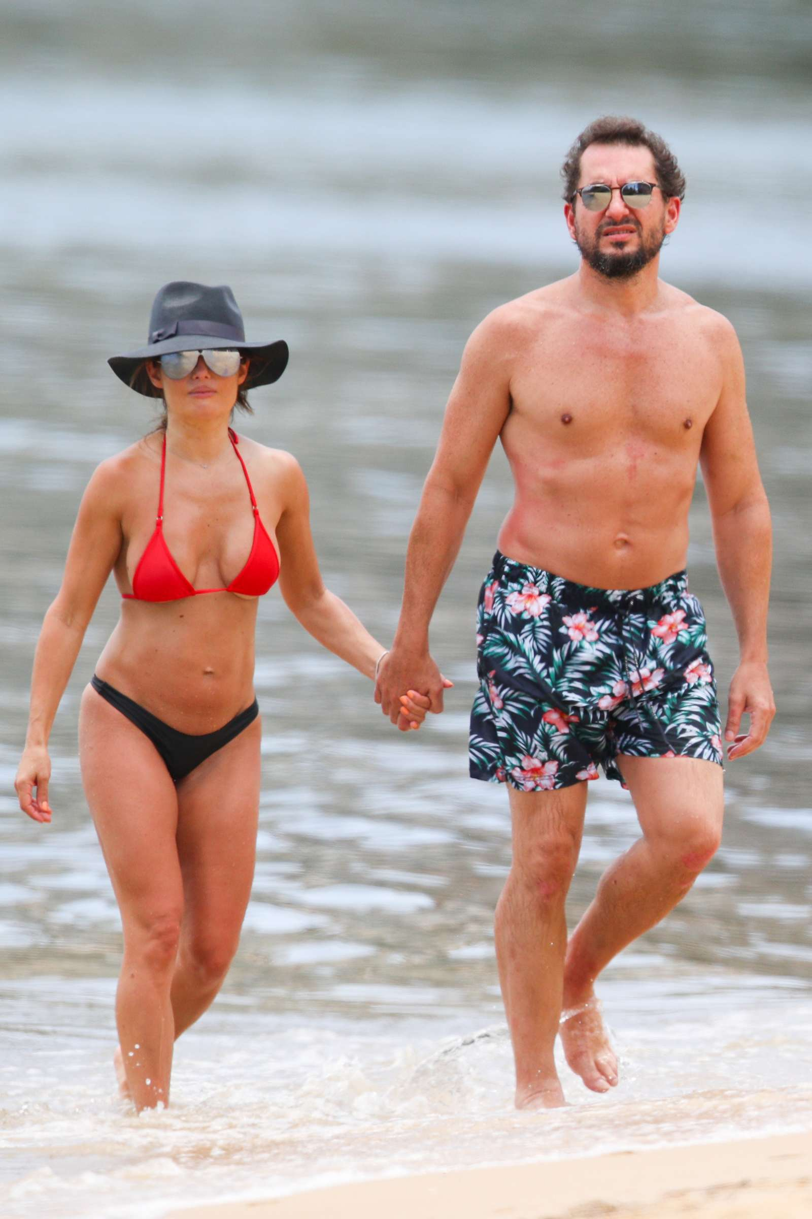 Ada Nicodemou 2019 : Ada Nicodemou in Black and Red Bikini 2019 -10
