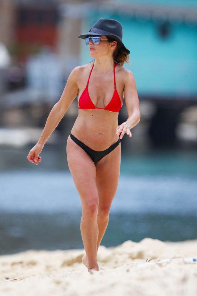 Ada Nicodemou 2019 : Ada Nicodemou in Black and Red Bikini 2019 -14