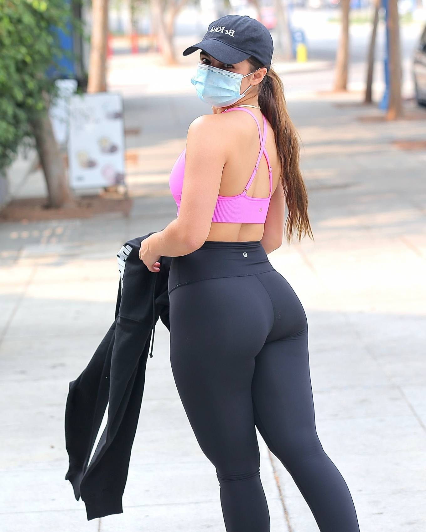 Workout 2020 : Addison Rae – Heaving a private workout in West Hollywood-12