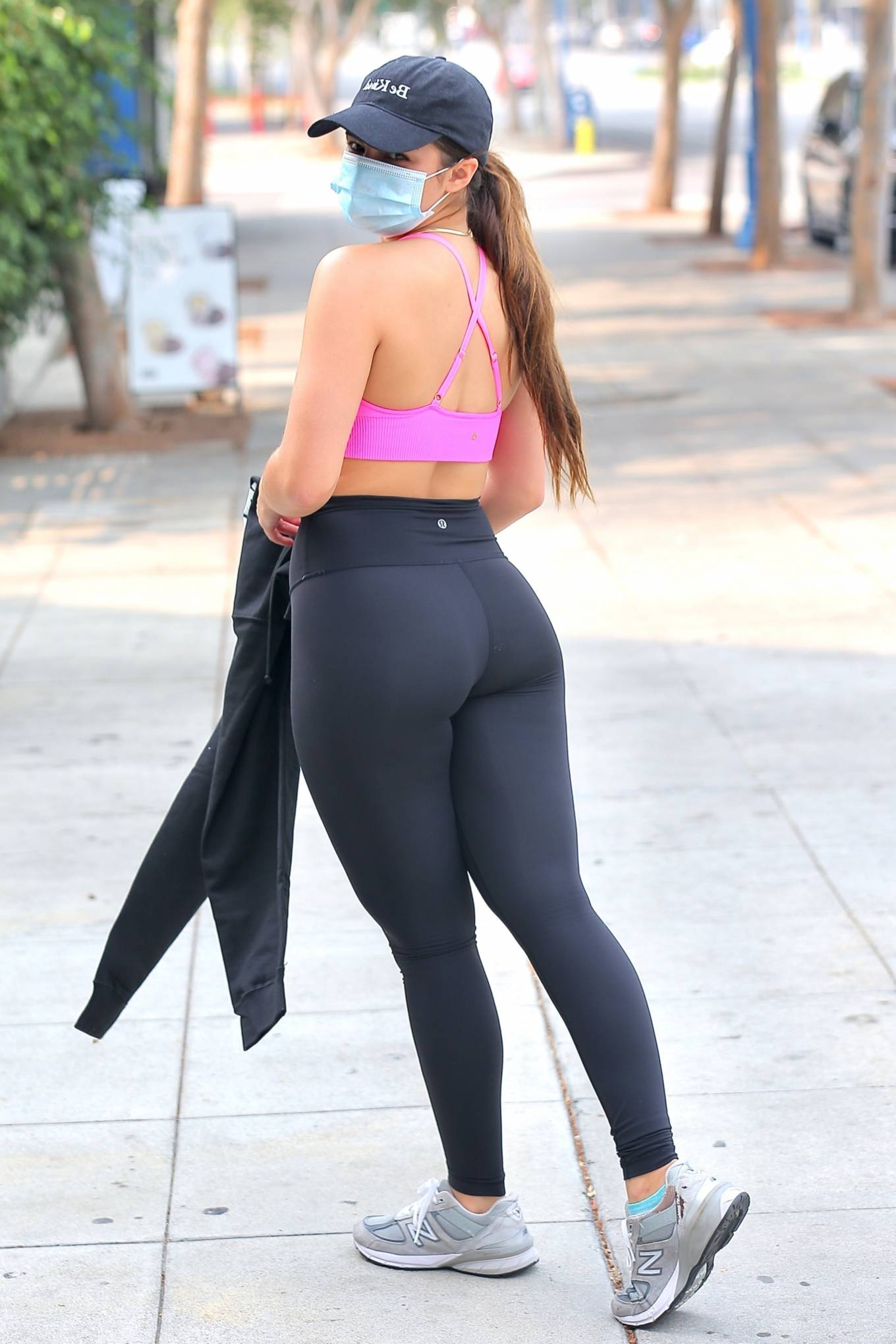Workout 2020 : Addison Rae – Heaving a private workout in West Hollywood-17