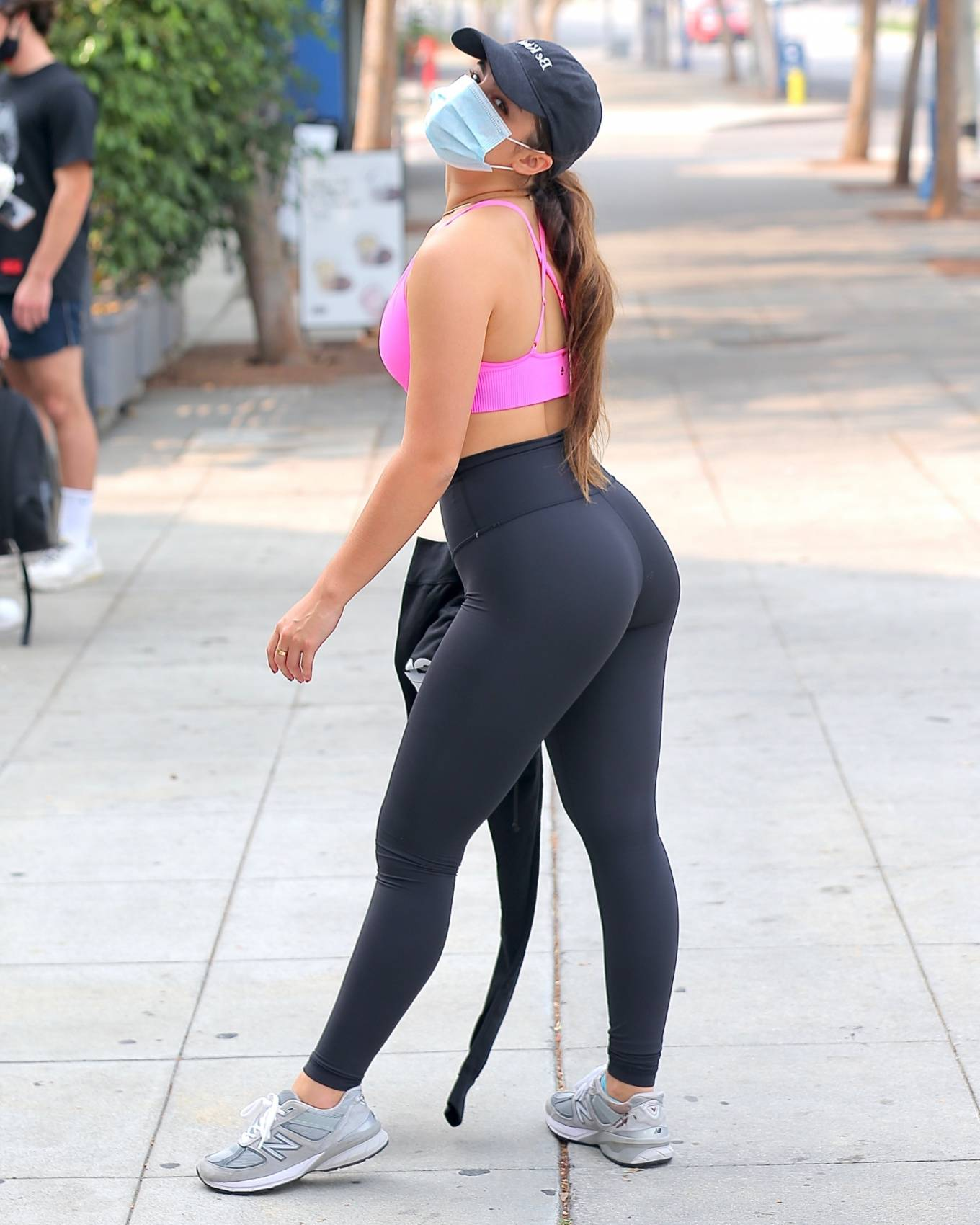 Workout 2020 : Addison Rae – Heaving a private workout in West Hollywood-29