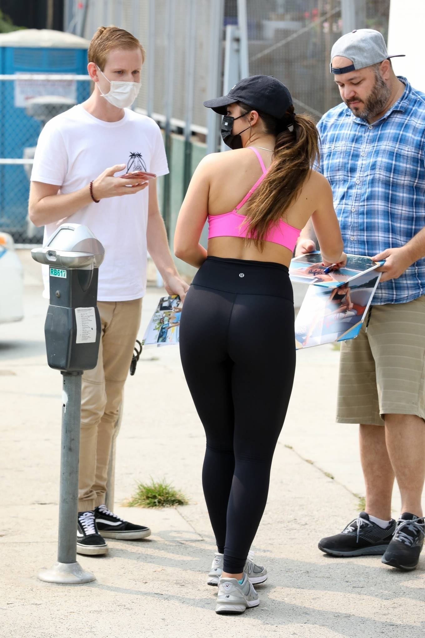 Workout 2020 : Addison Rae – Heaving a private workout in West Hollywood-40