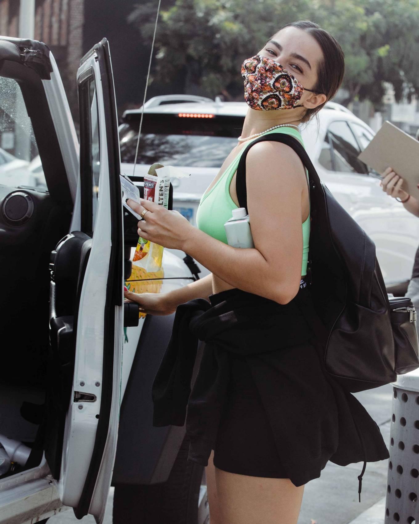 Addison Rae 2020 : Addison Rae – Leaving a workout at Dogpound West Hollywood-04
