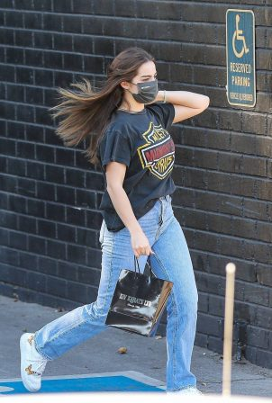 Addison Rae - Pictured outside XIV Karats in Beverly Hills