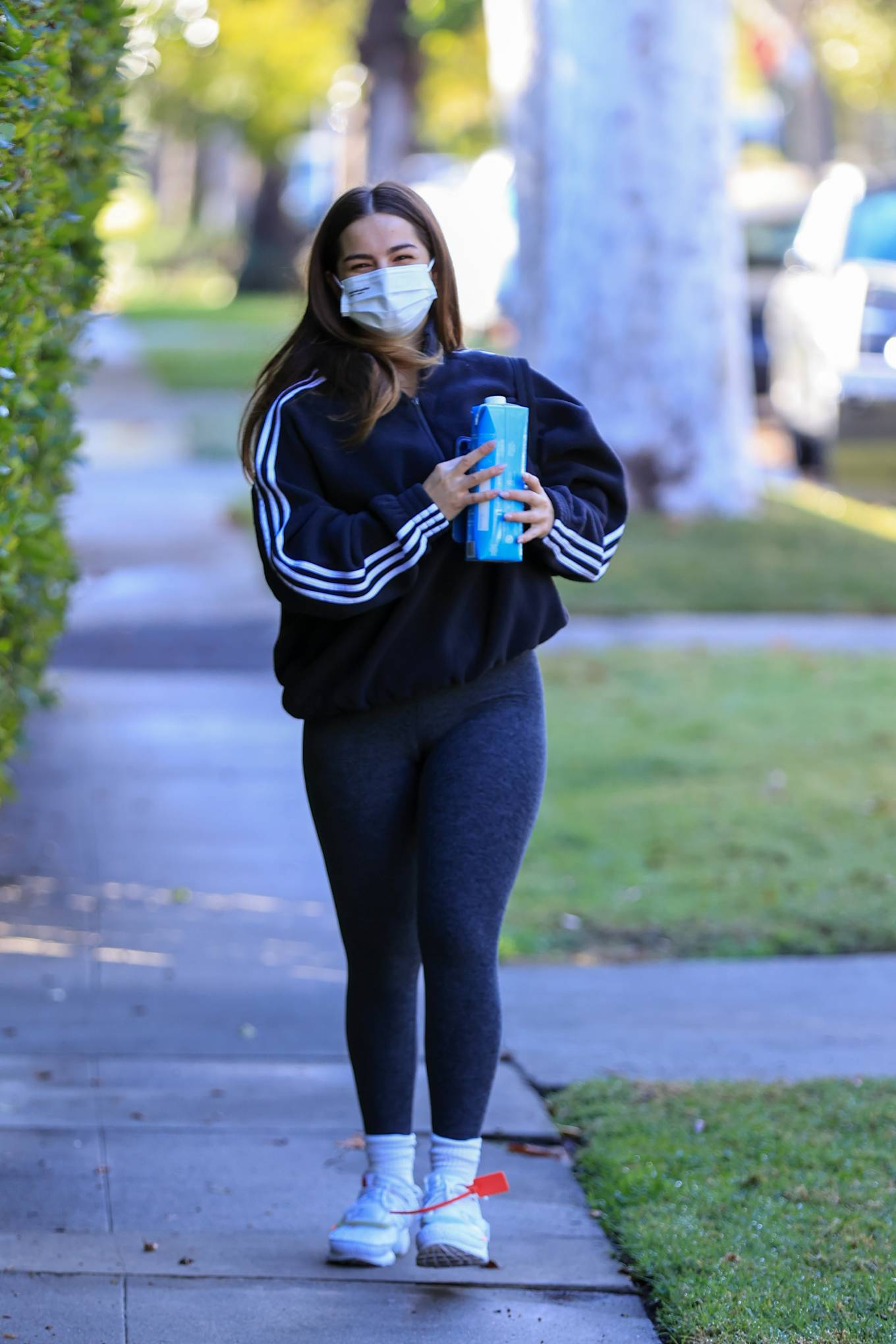 Addison Rae - Seen heading to her workout in Los Angeles