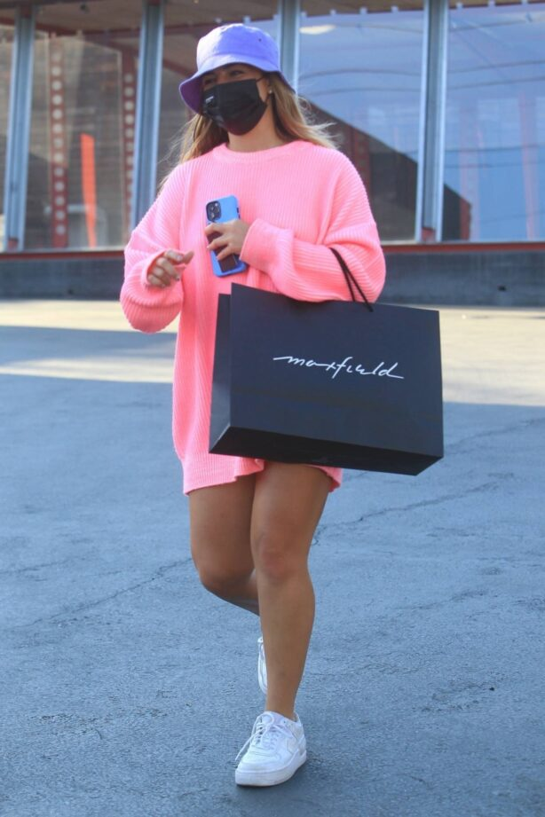 Addison Rae - Shopping at Maxfield's in West Hollywood