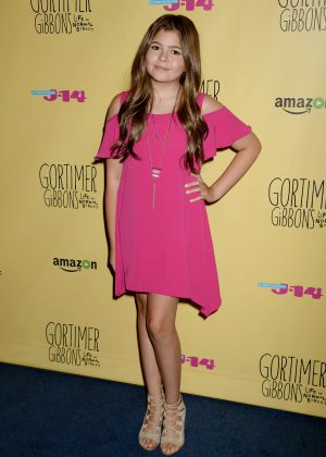 Addison Riecke - 'Gortimer Gibbons Life on Normal Street' Premiere in Burbank