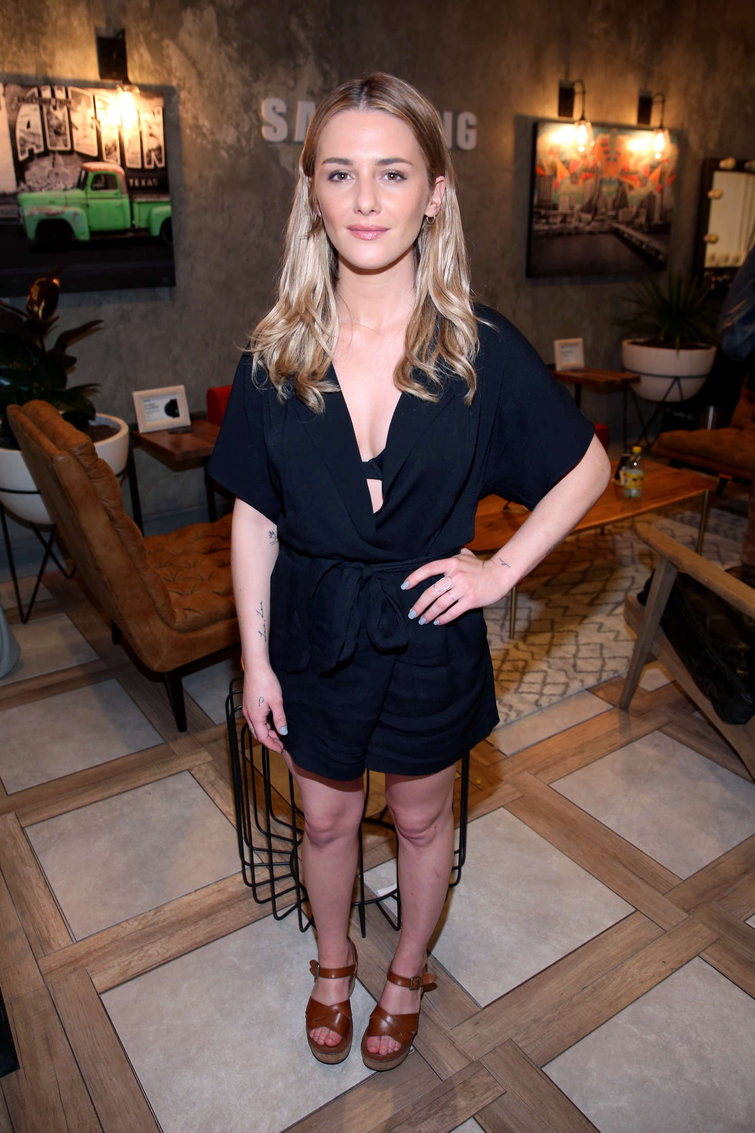 Addison Timlin at The Samsung Studio during SXSW 2016 in ...