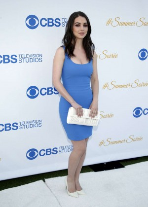 Adelaide Kane - 2015 CBS Summer Soiree in West Hollywood