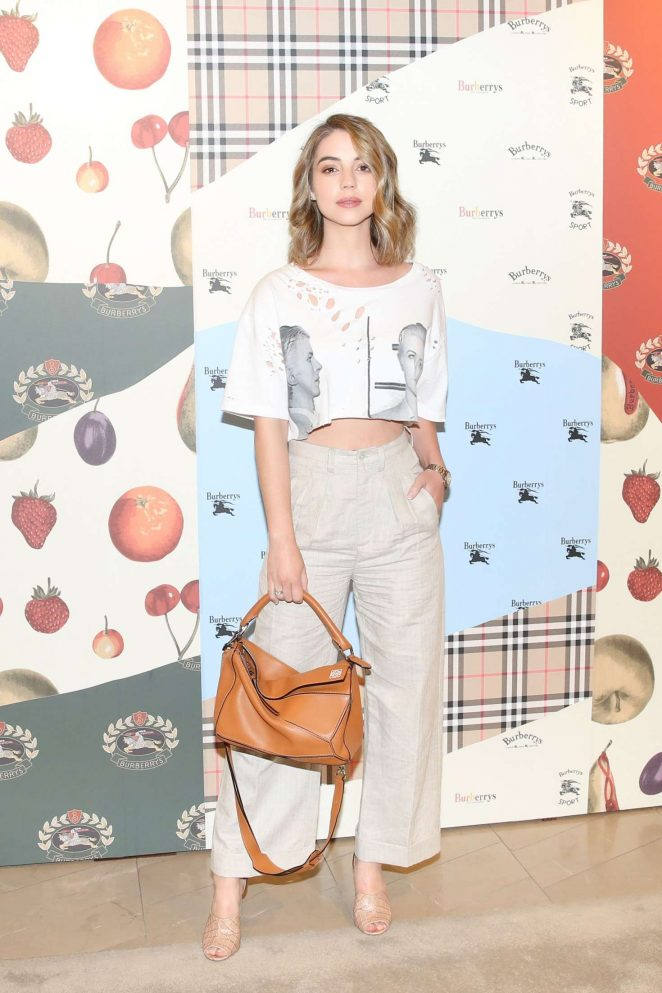 Adelaide Kane - Burberry x Elle Celebrate Personal Style with Julien Boudet in LA