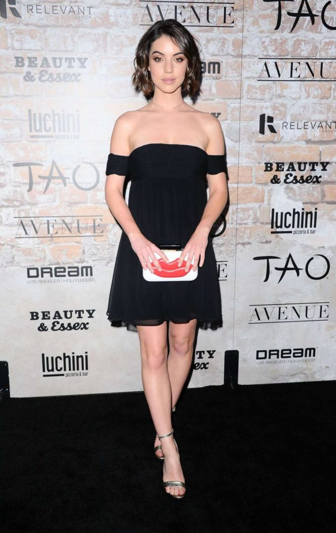 Adelaide Kane - TAO Group LA Grand Opening Block Party in Hollywood