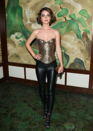Adelaide Kane - Wolk Morais Collection 5 Fashion Show in LA