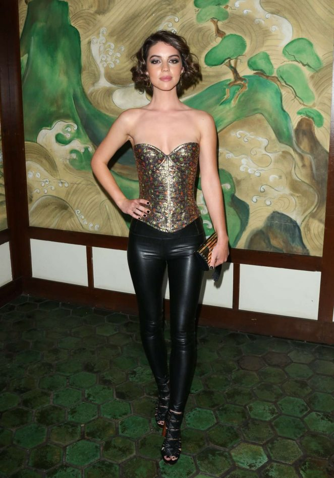 Adelaide Kane - Wolk Morais Collection 5 Fashion Show in LA