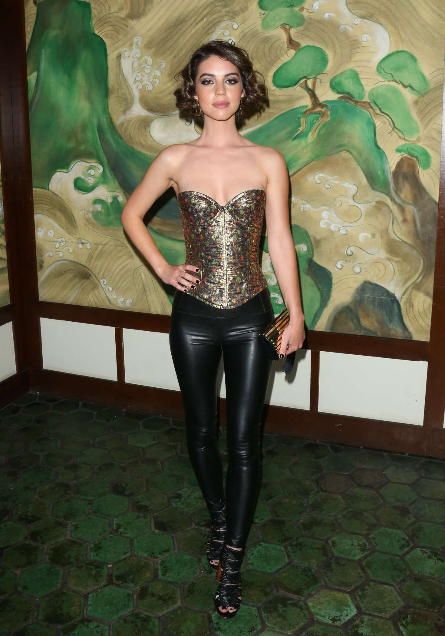 Adelaide Kane Wolk Morais Collection 5 Fashion Show In La