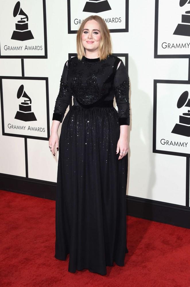 Adele: 2016 GRAMMY Awards -06
