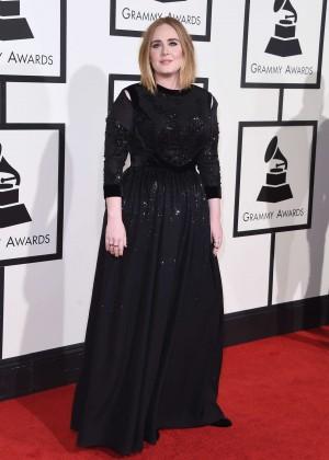 Adele - 2016 GRAMMY Awards in Los Angeles