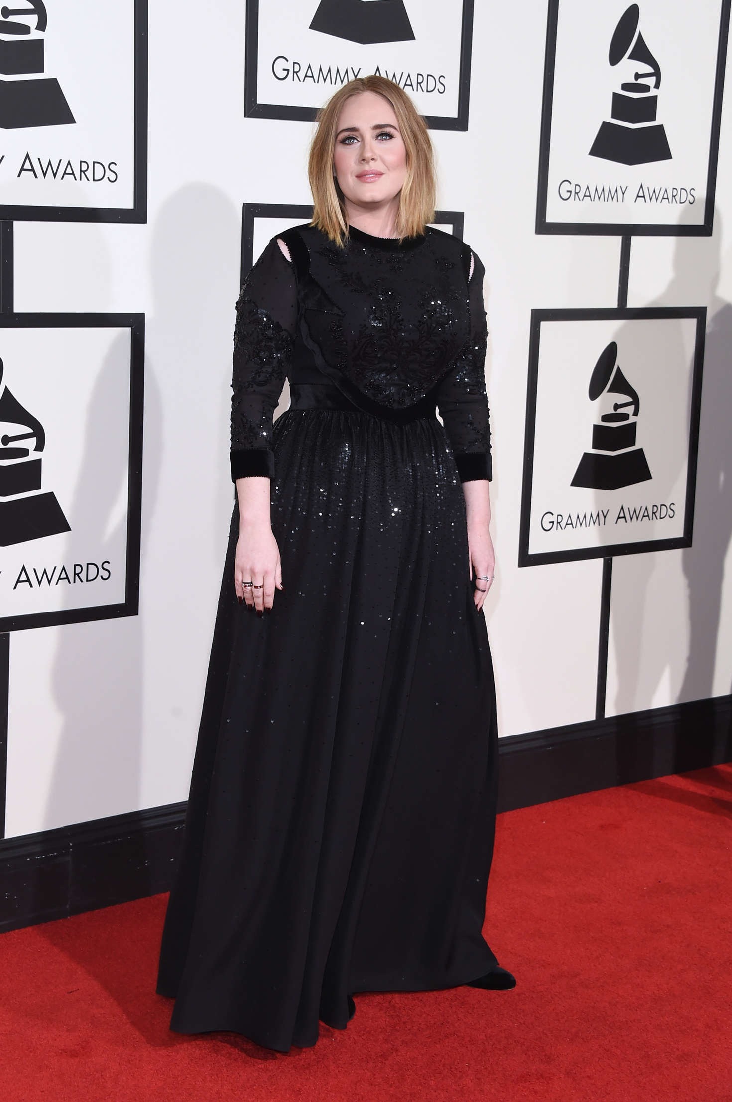 Adele 2016 Grammy Awards In Los Angeles