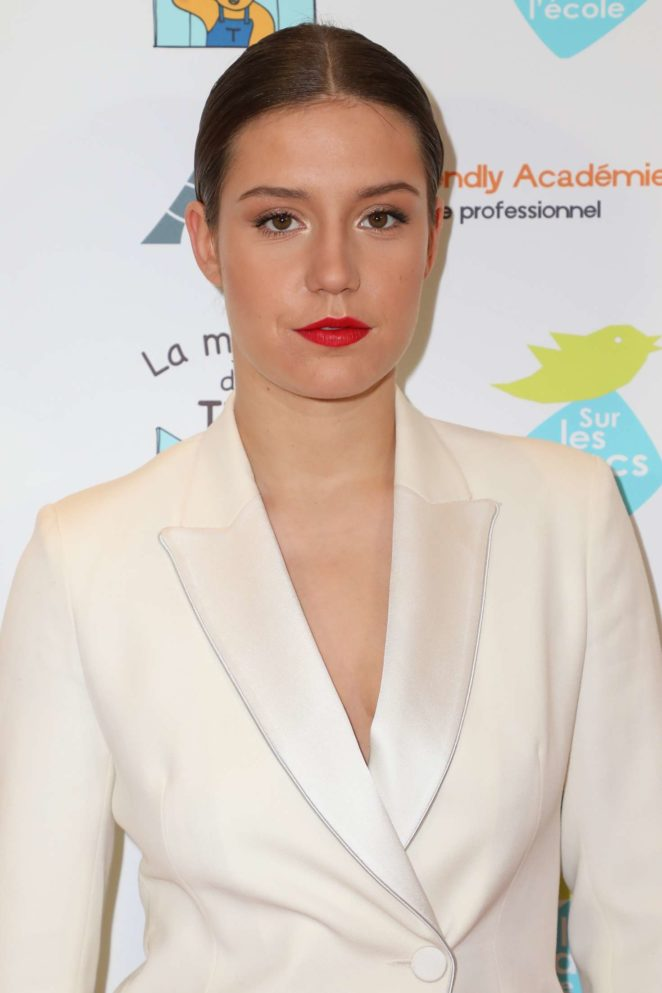 Adele Exarchopoulos - 2017 Autism Charity Gala in Paris