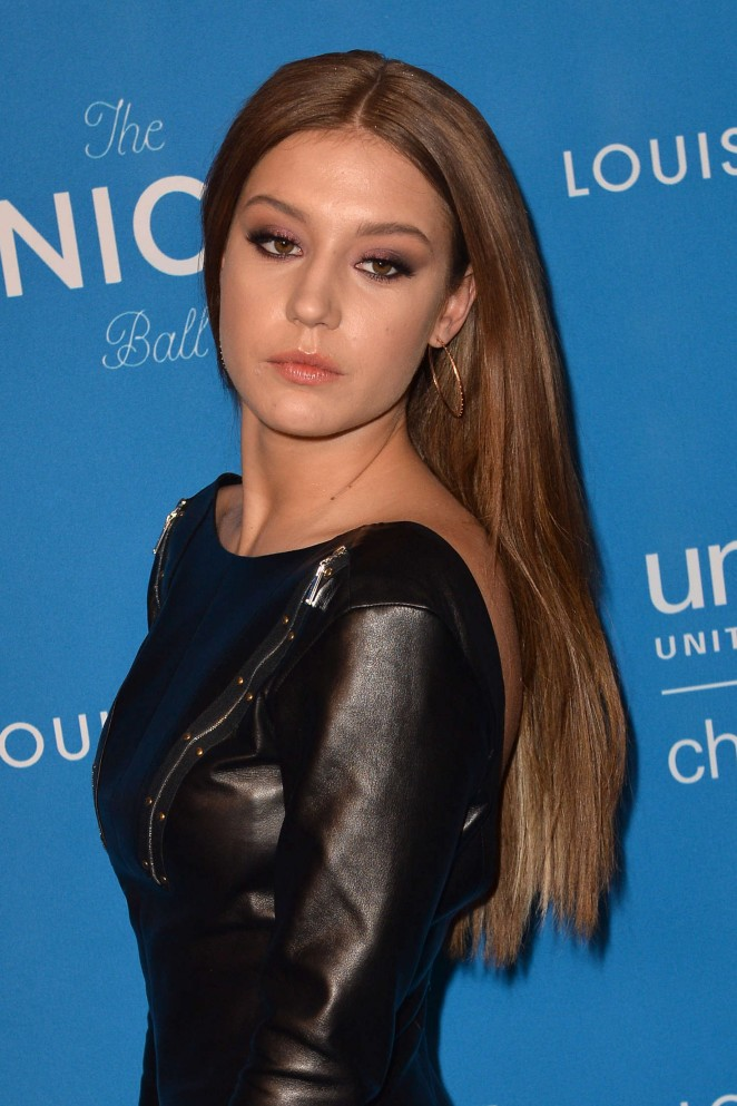 Adele Exarchopoulos 2016 : Adele Exarchopoulos: 6th Biennial UNICEF Ball -03