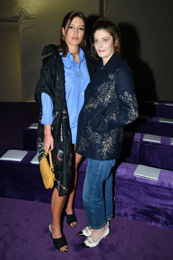 Adele Exarchopoulos and Chiara Mastroianni - Attends the Dior Haute Couture SS 2020 Show in Paris