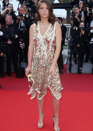 Adele Exarchopoulos - Anniversary Soiree at 70th Cannes Film Festival