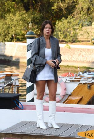 Adele Exarchopoulos - Arriving at 2020 Venice Film Festival