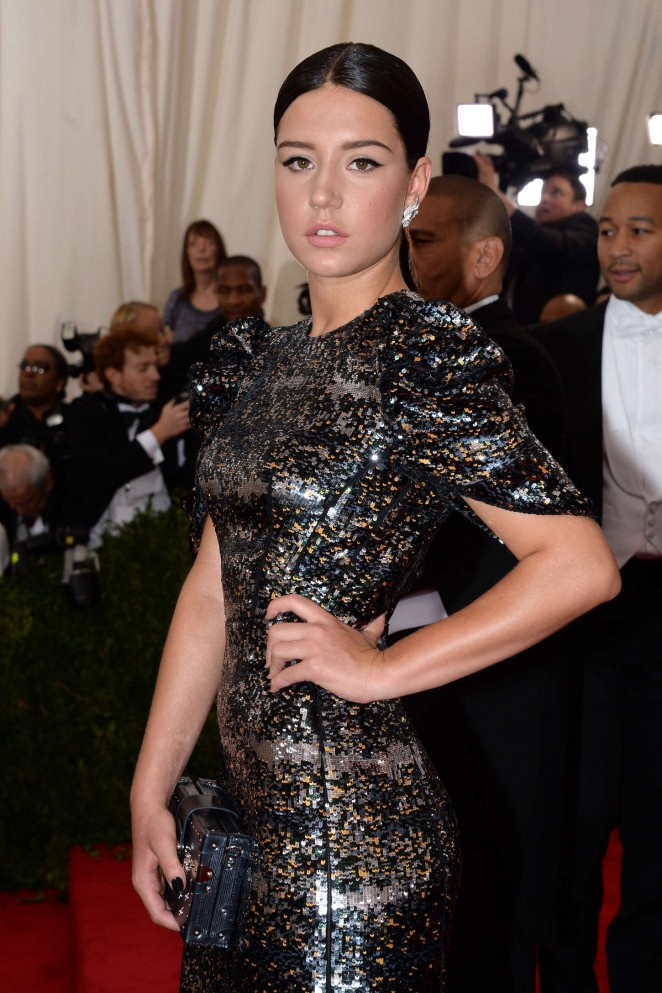 Adele Exarchopoulos - 2015 Costume Institute Gala in NYC