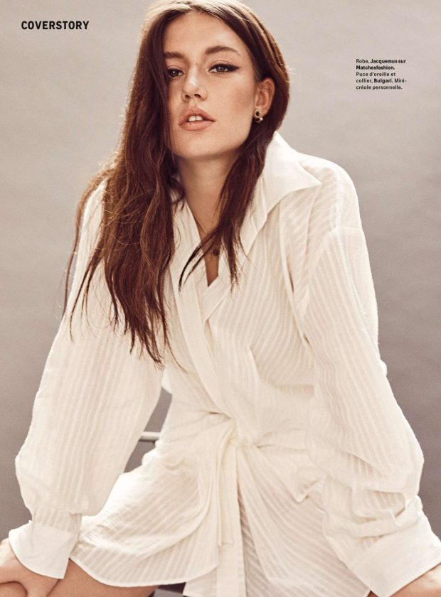 Adele Exarchopoulos for Grazia France Magazine (June 2019)