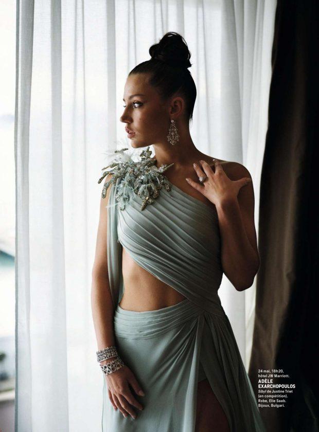Adele Exarchopoulos - Grazia France Magazine (June 2019)