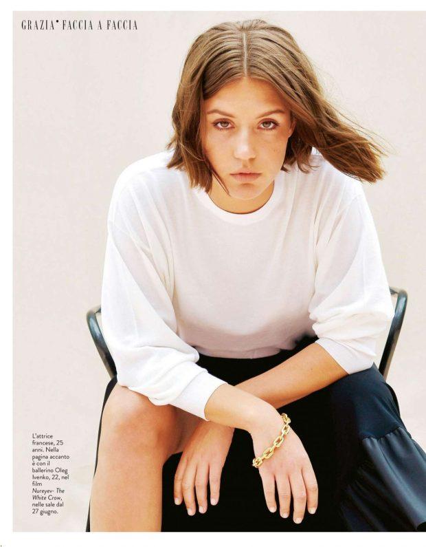Adele Exarchopoulos - Grazia Italy Magazine (June 2019)