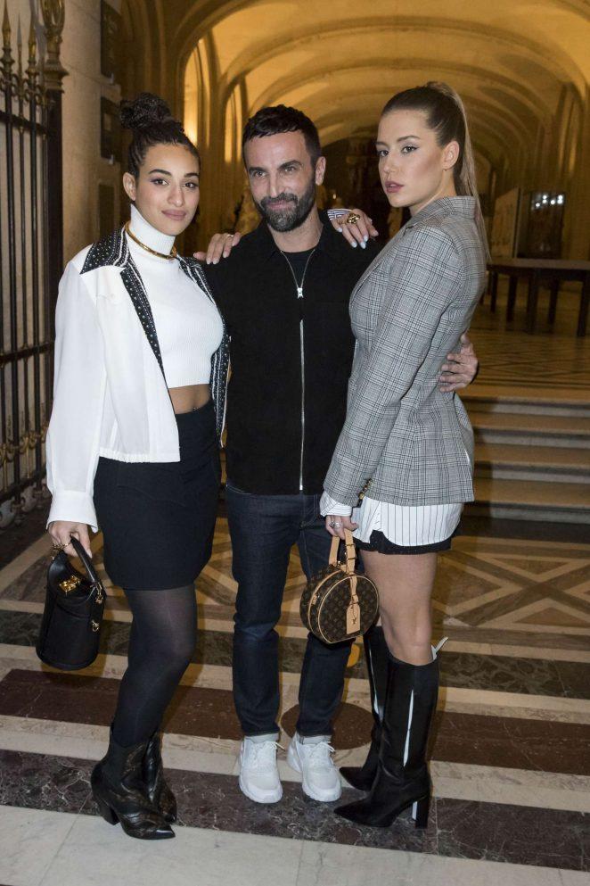 Adele Exarchopoulos - Louis Vuitton Fashion Show 2018 in Paris
