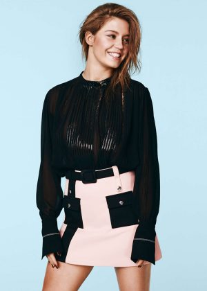 Adele Exarchopoulos - Madame Figaro French Inspiration 2016